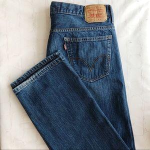 [Levi's] men's 569 loose straight jeans 34x34